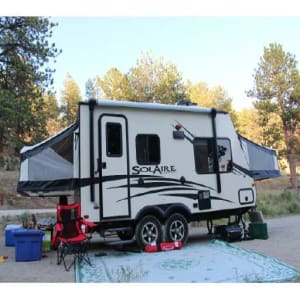 2018 Palomino For Rent 2018 Solaire 18 Foot Hybrid Travel